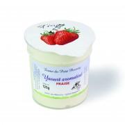 Yaourt arômatisé à la fraise
