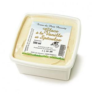 Glace vanille spéculos