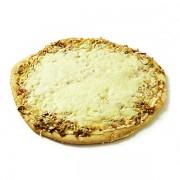 Pizza poireaux parmesan