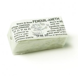 Beurre Aneth Fenouil 125g