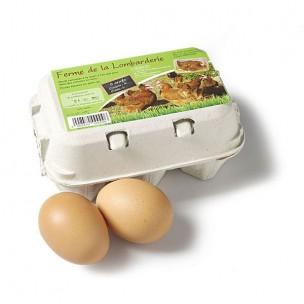 6 œufs moyens M